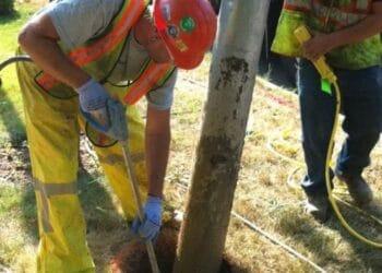 Hydrovac Potholing Excavation